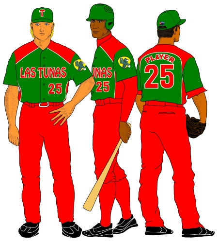 Las Tunas (uniforme visitante 2011-12)