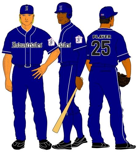 Industriales (uniforme visitante 2011-12)