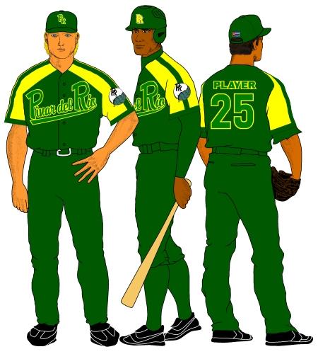 Pinar del Río (uniforme visitante 2011-12)